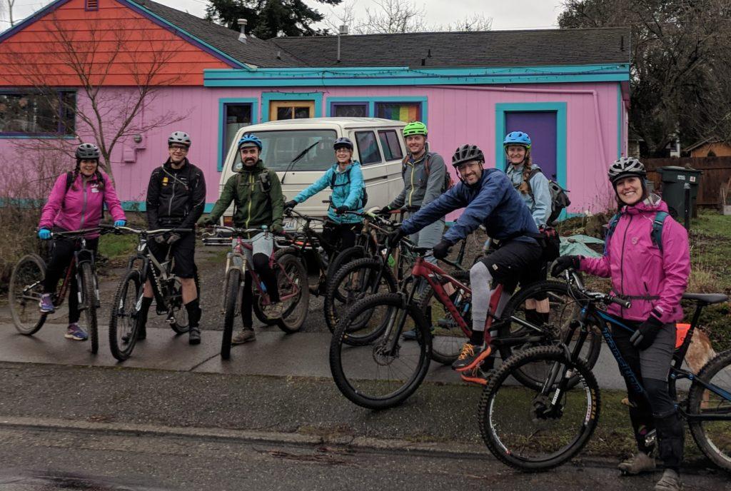 Mountain Bike Group Ride